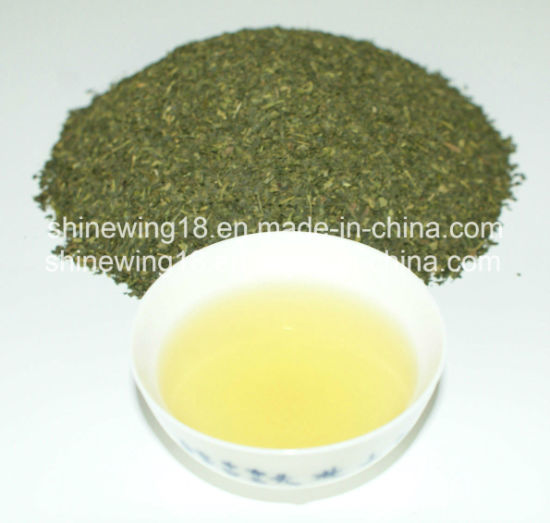 Wholesale New Green Fanning Broken Green Tea pictures & photos