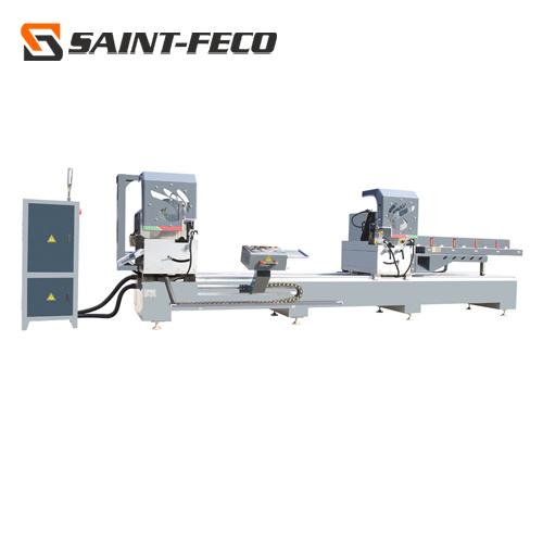 Window Machine/Aluminum Window Door Making Profiles Double Head Cutting Saw Machine