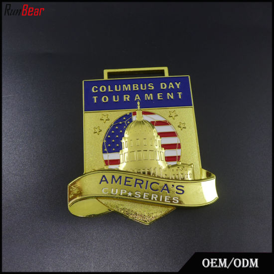 High Quality Medal with Transfer Printed Lanyard pictures & photos