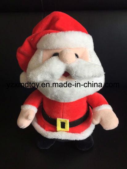 China Plush Electric Shaking And Talking Santa Claus Toys China