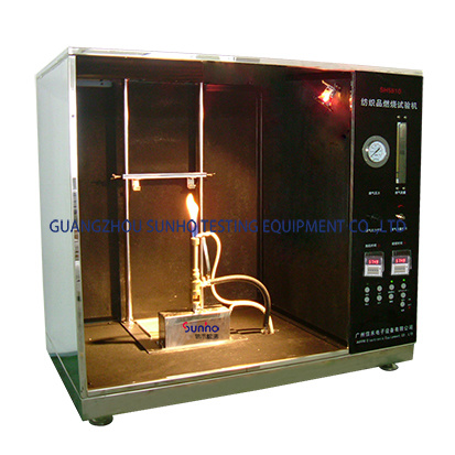 Nfpa701 Intelligent Control High Precision Curtain Fabric Flame Test/Testing Machine pictures & photos