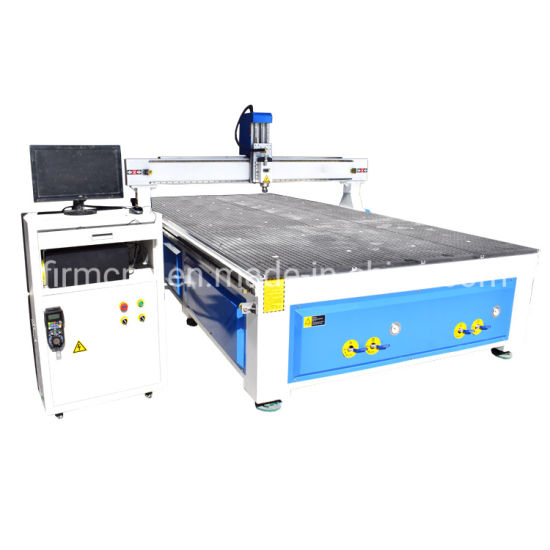2040 4.5kw Hqd Spindle Engraving and Cutting 4 Axis Wood CNC Router Machine