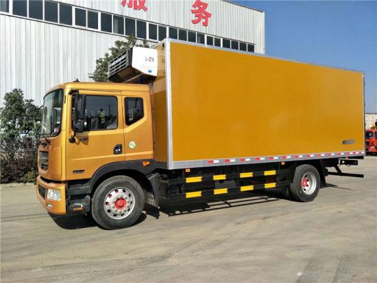 2018 Model New 180HP 8 Tons 8tons Refrigerator Truck for Milk Transportation