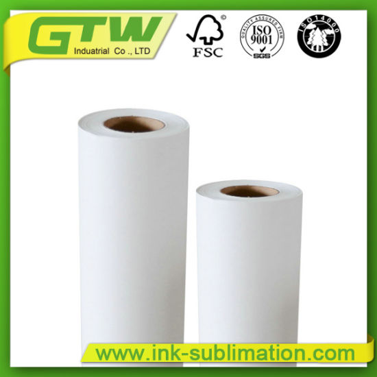 Anti-Curl 100GSM Dye Sublimation Paper with 98% Transfer Rate