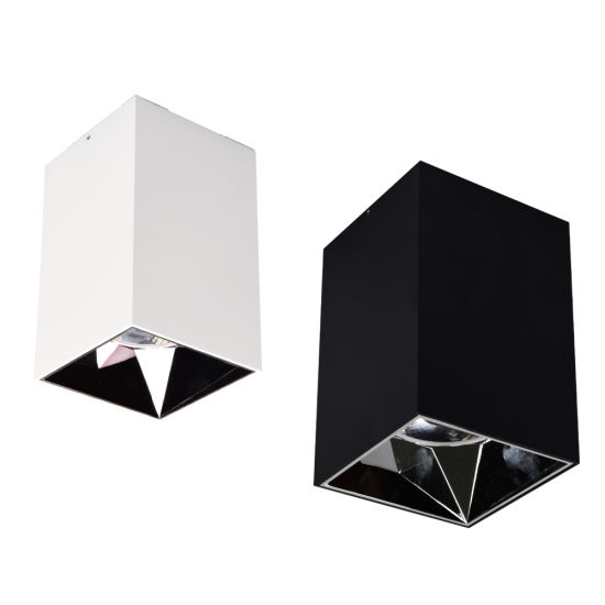 Distributor COB Commercial Downlight Bathroom Lamp Lighting Wall Surface Mounted LED Ceiling Light Square Kitchen