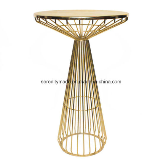 Tail Round High Bar Table