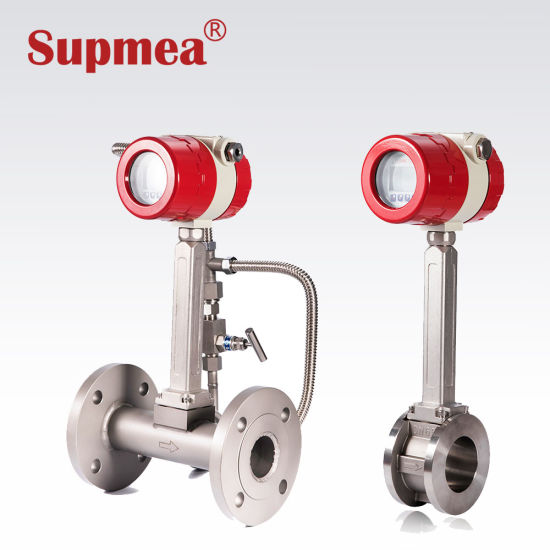 Wholesale Industrial Gas Steam and Water Hydrogen Vortex Flow Meter Factory