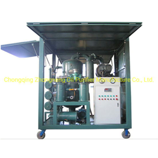 Zyd Double Vacuum Stage Transformer Oil Purification Machine