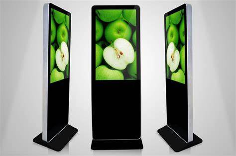 """59"""" Inch Floor Stand Digital LCD Advertising Display for Shopping Mall"""