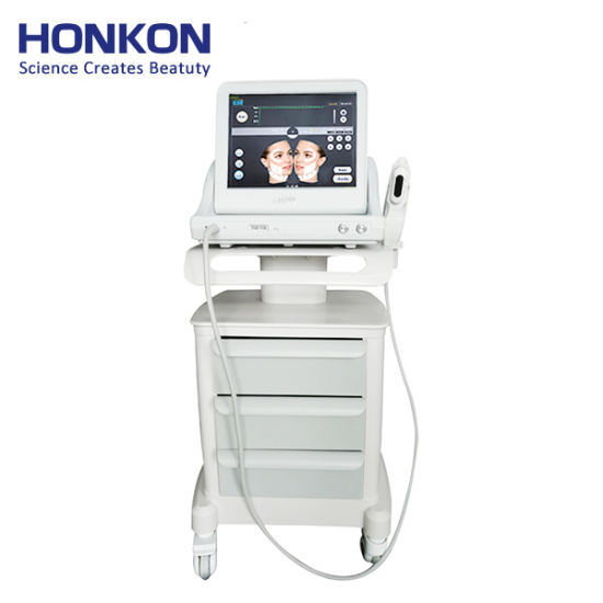 Anti Wrinkle Instant Facial Body Slimming 2D Hifu Face Lift Salon Equipment