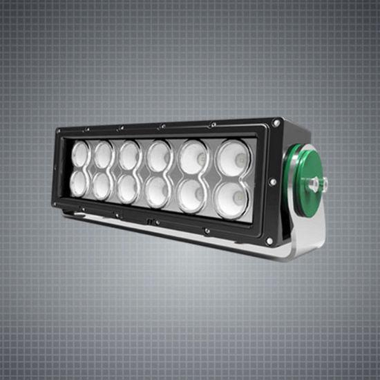 Slim 120W 12inch 12V/24V LED Flood Work Light for Offroad Car Tractor Truck Agricutlure