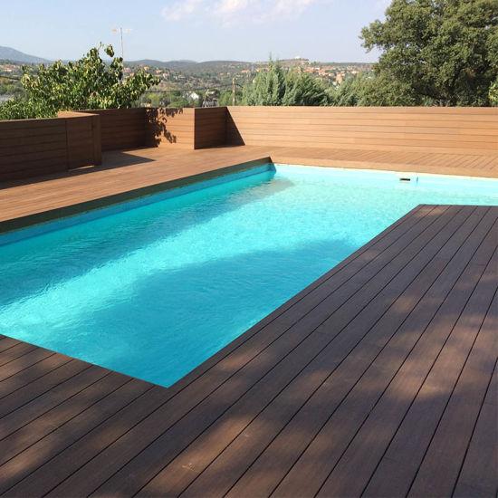 Hot Sale Wooden Flooring Wood Plastic Composite WPC Decking