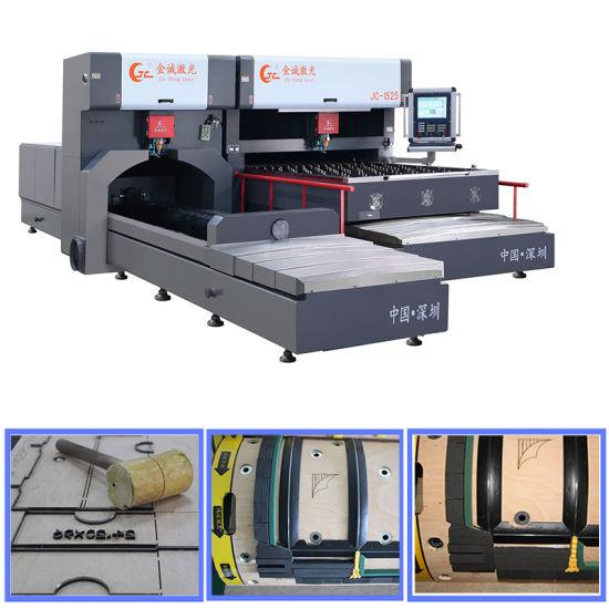 Jcpy-F1225/8030 Flat & Rotary Die Board Laser Cutting Machine for Die Making
