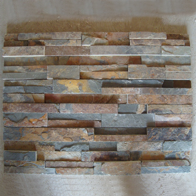 Cheap Customized Natural Concrete Slate Culture Stone for Wall