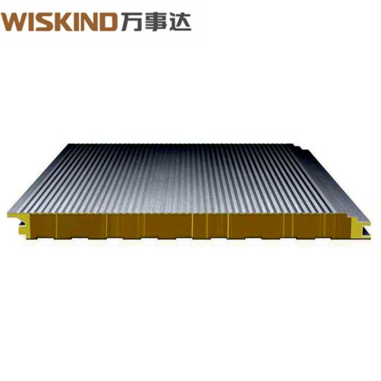 High Strength Insulating Glass Wool Sandwich Panel with PU Edge Sealed