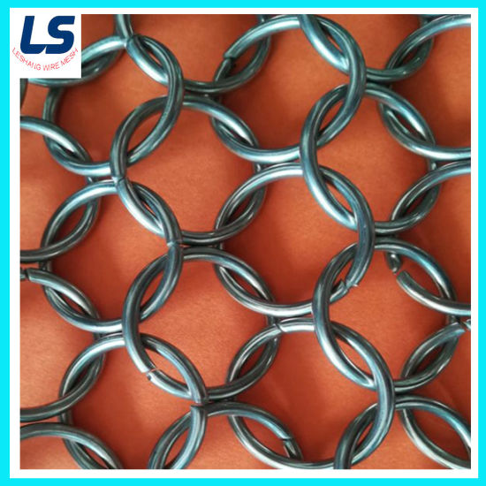 Decorative Ring Mesh for Wall Curtain
