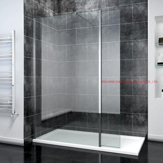 8mm Tempered Glass Walk in Shower Door
