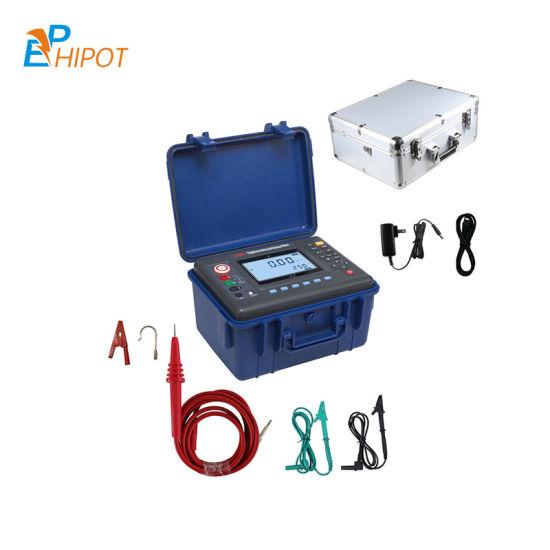5kv Digital Insulation Resistance Meter, 5000V Megohmmeter, 5kv Megger Meter 5000V High Voltage Resisitance Tester