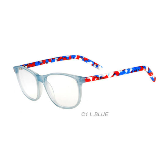 Eye Wear Half Rim Acetate Spectacle Frames Eyeglasses