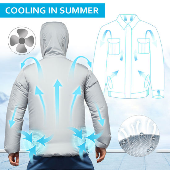 SAVIOR Air Conditioning Work Clothes For Summer Outdoor Sports