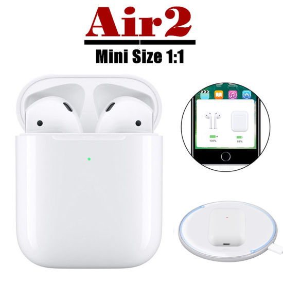 China 1 1 Best Quality Wireless Bluetooth Earphone For Apple For Airpods With Wireless Charging Case China Wireless Earphone And Wireless Headset Price