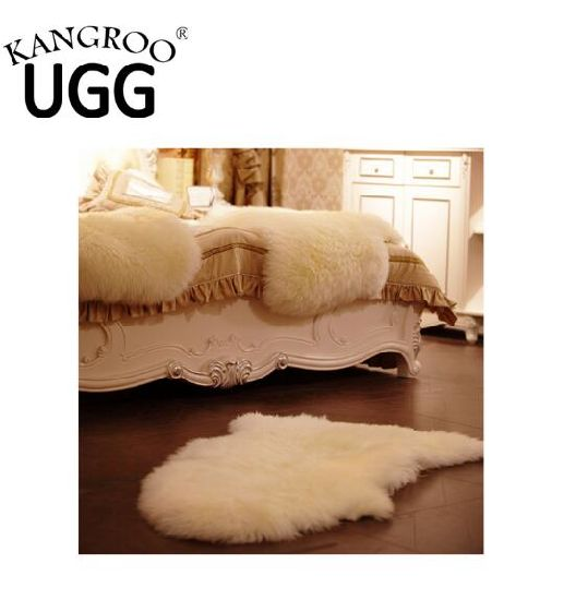 Genuine Australian Sheepskin Single Rug Baby Rug Pelt White pictures & photos