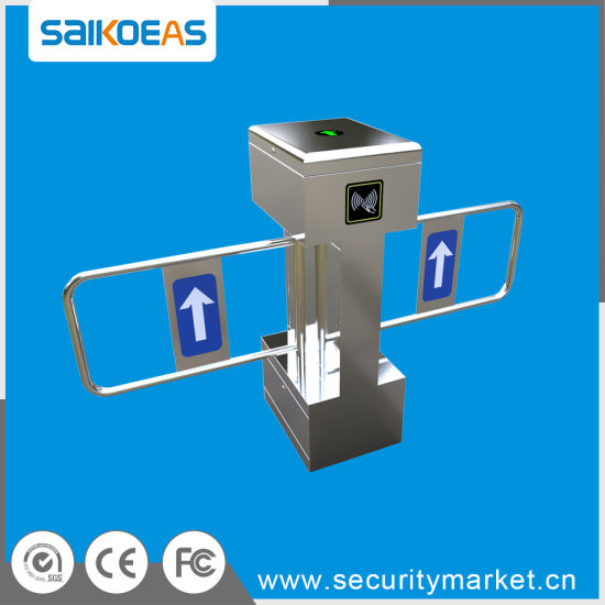 Safety Access Control Gate Electric Swing Barrier