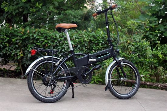 "20"" Folding Electric Bike/Bicycle/Scooter Ebikes pictures & photos"