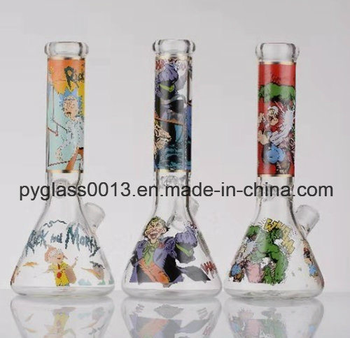 Factory Directly Supply Smoking Water Pipes with Decals in Competitve Price