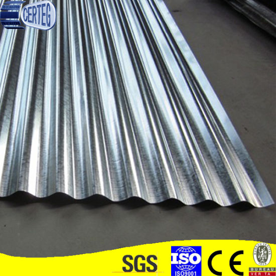 Yx18-76-836 Corrugated Galvanized Steel Roofing