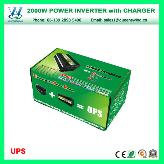 UPS 2000W Solar Power Inverter with Charger (QW-M2000UPS) pictures & photos