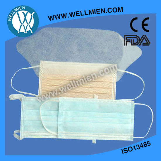 3ply Medical Face Mask with Eye Shield pictures & photos