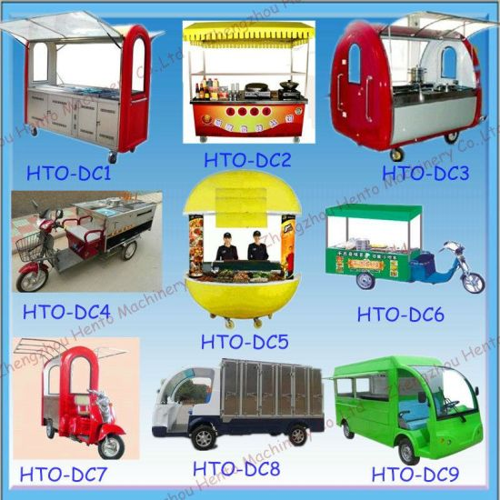 Hot Selling Mobile Fast Food Vending Cart Trailer Truck pictures & photos