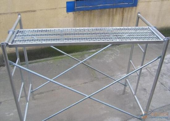 Customized Aluminum Scaffolding, OEM Aluminium Scaffold pictures & photos