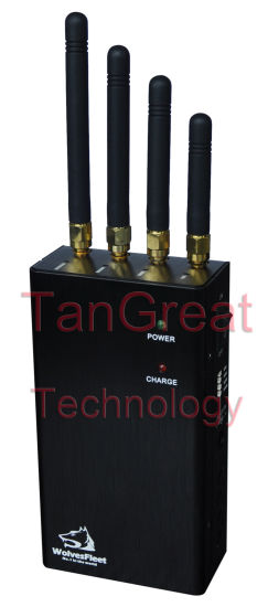Portable Cell Phone WiFi Jammer Handheld Signal Jamming (TG-120A-PRO)