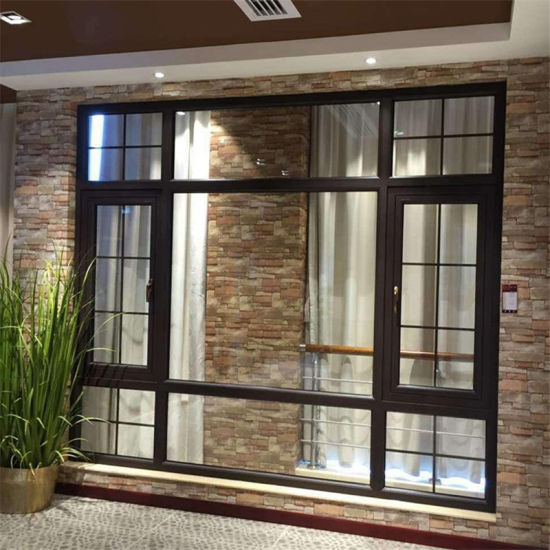 Wholesale PVC Plastic Sliding Glass Soundproof Prefabricated Windows Bulletproof Impact Security UPVC Profiles Windows and Doors