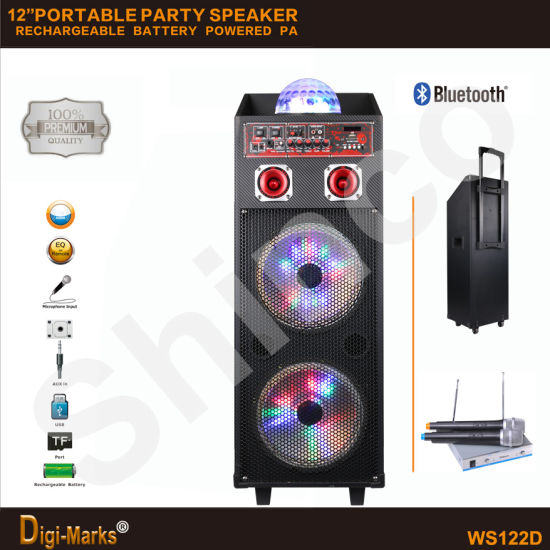 Hot Sale Stereo Bluetooth Speaker Karaoke TV KTV Disco Loudspeaker pictures & photos