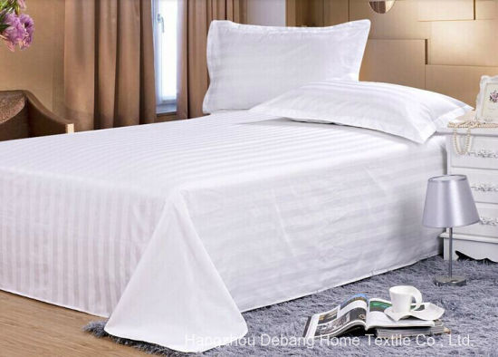 100% Cotton White Bedding Set Hotel Wholesale Price