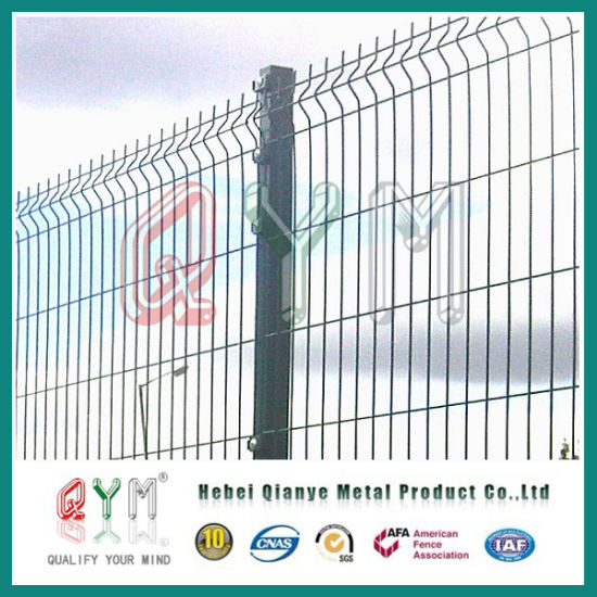 China 3D Curved Wire Mesh Fence/Galvanized Welded Wire Mesh Fence ...