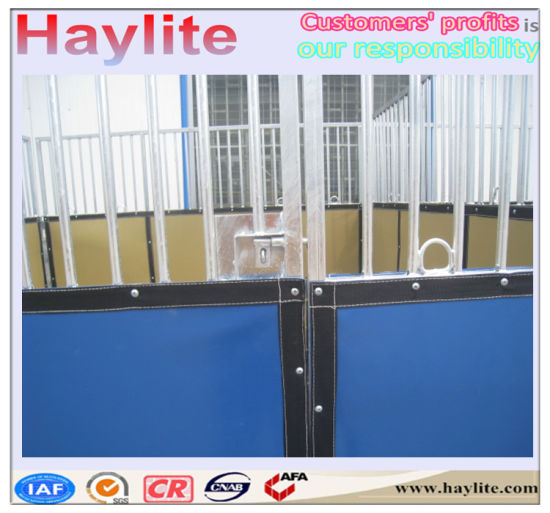 High Quality OEM Portable Horse Stable with Mat pictures & photos