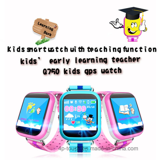 Colorful Touch Screen GPS Tracker Watch with Multi-Language (D19) pictures & photos