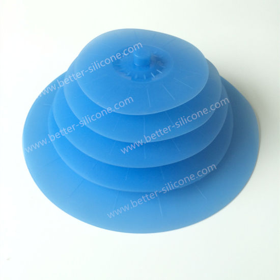 Silicone Suction Skillet Pan Cover for Cookware Sets pictures & photos