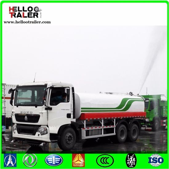 336HP Diesel Engine Fuel Tanker Truck to Transport Various Liquid pictures & photos