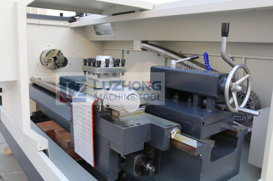 Ck6150 Top-Level Metal Horizontal Flat Bed CNC Lathe Machine pictures & photos
