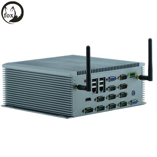 6*USB RS232/422/485 Intel 1037u 1.8GHz Dual-Core CPU Embeded Min PC Embeded Industrial Computer