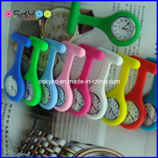 Promotion Gifts Silicone Pocket Watches (P6902)