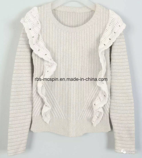 Kid′s Knitted Sweater for Girls pictures & photos