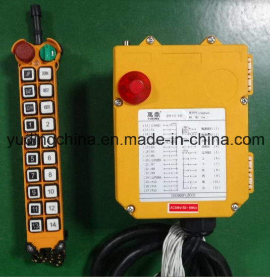 China Best Price Wireless Remote Control for Overhead Crane