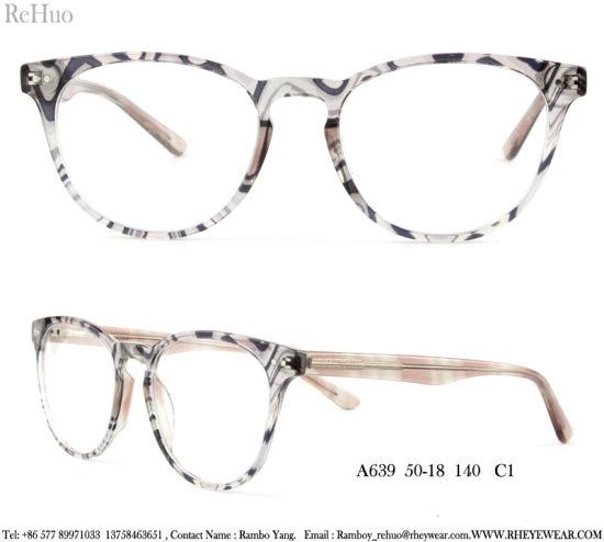 40e83003b9b China 2018 Fashion Acetate Optical Frames for Woman - China Acetate ...
