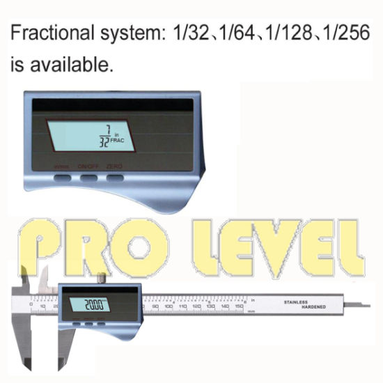 Dual Power Fractional System Solar Digital Caliper (SKV220-S1) pictures & photos